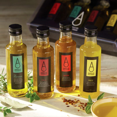 Gift Pack of Infused Organic Extra Virgin Olive Oil