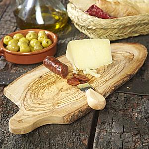 Rustic Olive Wood Cutting Board