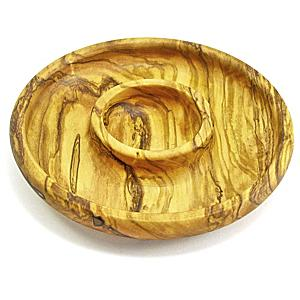 Olive Wood Dish for Serving Olives