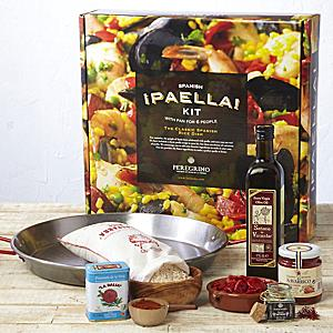Traditional Paella Kit with Pan by Peregrino - Packed in Gift Box