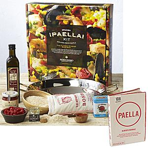 Deluxe Paella Kit with Paella Cookbook by Peregrino
