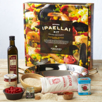 Deluxe Paella Kit with Stainless Pan