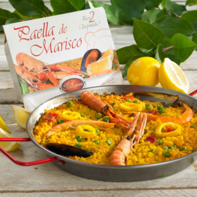 Authentic Paella de Marisco from Valencia (2 Packages, Frozen)