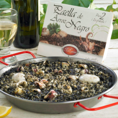 Authentic Arroz Negro Paella from Valencia (2 Packages, Frozen)