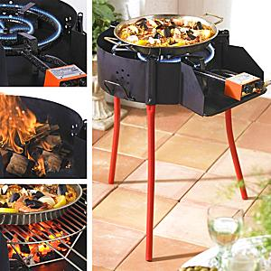 FREE SHIPPING! - Medium Paella Grill System with Burner