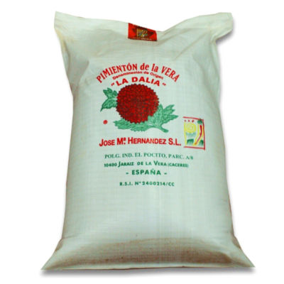 Hot Smoked Paprika by La Dalia (25 Kilos)