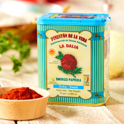 2 Tins of Sweet Smoked Paprika by La Dalia