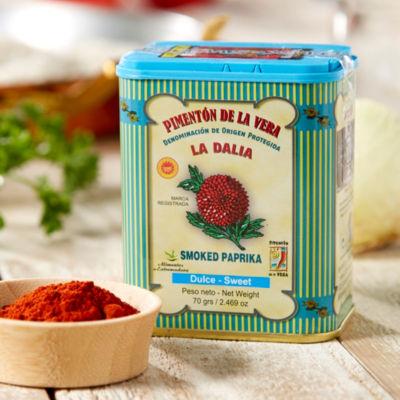 3 Tins of Sweet Smoked Paprika by La Dalia