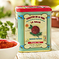 Hot Smoked Paprika by La Dalia (2 Tins)