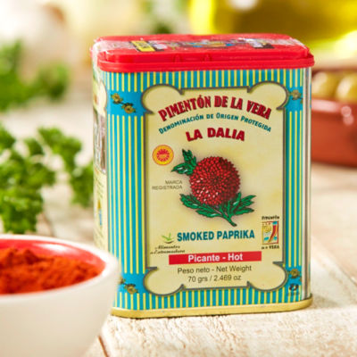 2 Tins of Hot Smoked Paprika by La Dalia