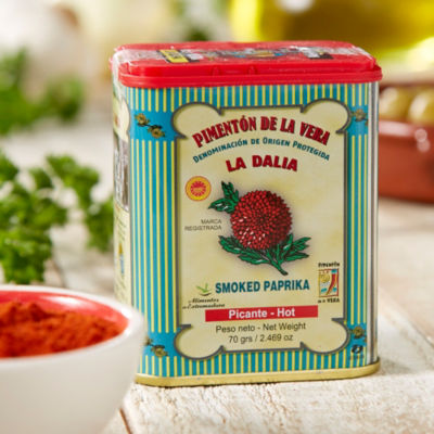 3 Tins of Hot Smoked Paprika by La Dalia