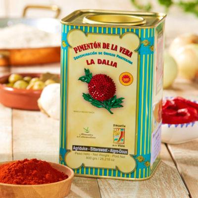 Bittersweet Smoked Paprika by La Dalia (Extra Large Tin)
