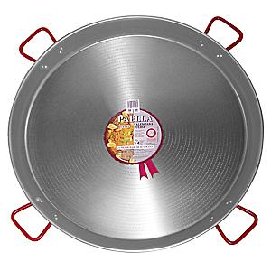 XL - 36 Inch Traditional Steel Paella Pan
