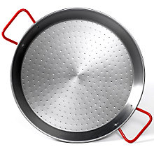10 Inch Traditional Steel Paella Pan