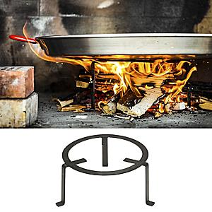 Forged Steel Paella Tripod for Outdoor Cooking