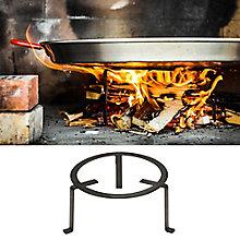 Medium Forged Steel Paella Tripod (For 15-18 Inch Paella Pans)