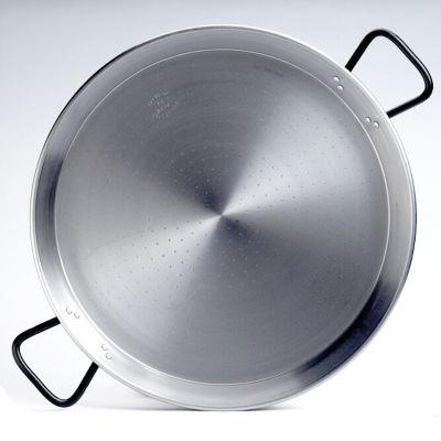 22 Inch 'Pata Negra' Double-Gauge Steel Paella Pan