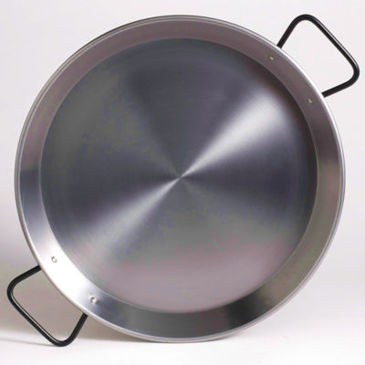 15 Inch 'Pata Negra' Double Gauge Steel Paella Pan