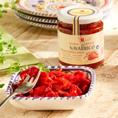 2 Jars of Roasted Piquillo Pepper Strips