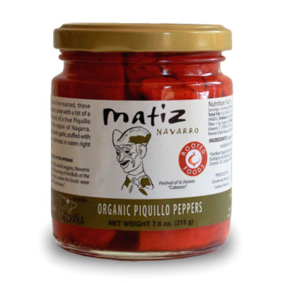 Organic Piquillo Peppers by Matiz