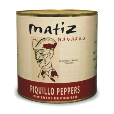 Piquillo Peppers by Matiz - Extra Large Tin
