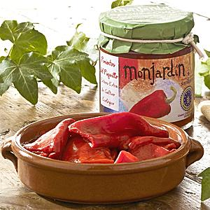 Organic Roasted Piquillo Peppers by Monjardin