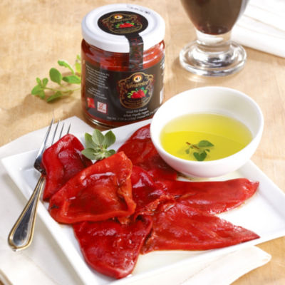 2 Jars of Wood-Fire Roasted Piquillo Pepp