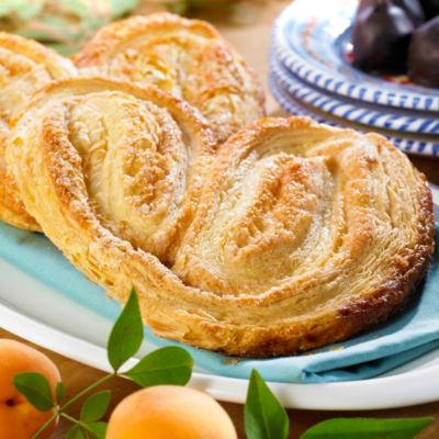 4 Pieces of Palmera Pastry