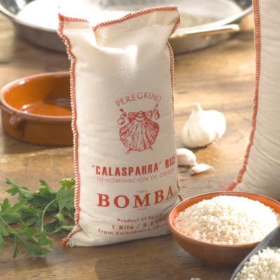 Bomba Paella Rice by Peregrino