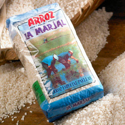 2 Packages of La Marjal Paella Rice