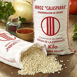 Semi Brown Calasparra Paella Rice