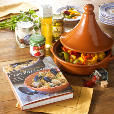 Tagine Ingredients and Cookware Kit