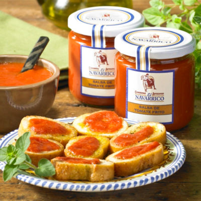 2 Jars of Tomate Frito Tomato Sauce by El Navarrico
