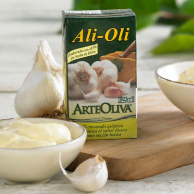 6 Packages of Alioli Garlic Mayonnaise with Extra Virgin Olive Oil