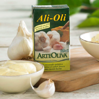 3 Packages of Alioli Garlic Mayonnaise with E