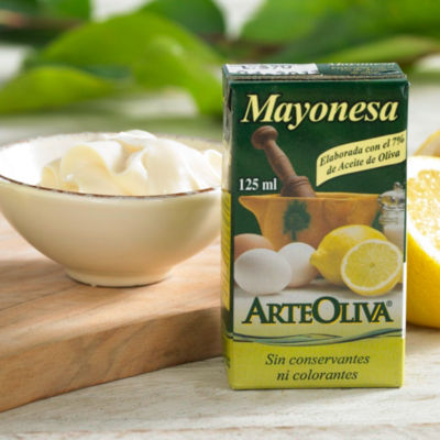 Mayonesa with Extra Virgin Olive Oil by Arteoliva (3 Packages)