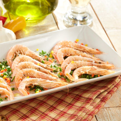 Gambas Blanca de Huelva - Delectable Sweet Shrimp from Huelva