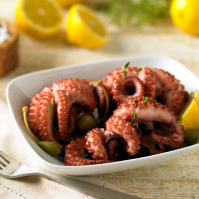 Small Whole Octopus - Spanish Pulpo by Peregrino