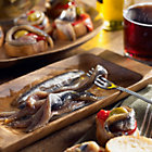 Smoked Anchovy Fillets by Nardin (2 Tins)
