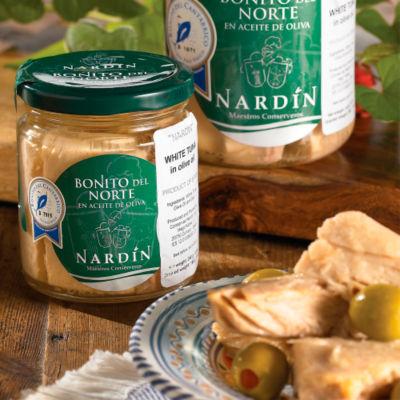 Bonito del Norte Tuna Loin by Nardin (5.6 Ounces)