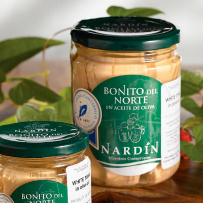 Bonito del Norte Tuna Loin by Nardin (15.2 Ounces)
