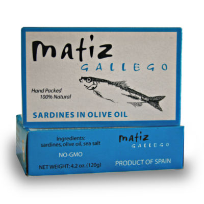 Sardines in Olive Oil by Matiz Gallego (3 Tins)