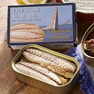 Filetes de Caballa by Conservas de Cambados (3 Tins)