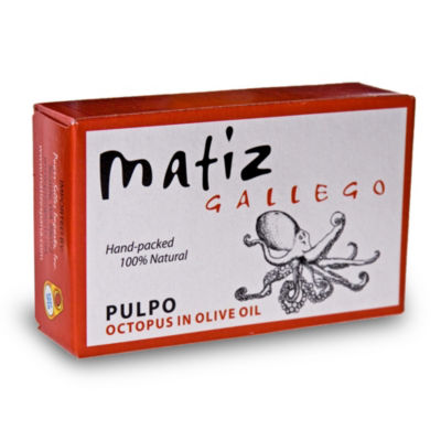 2 Tins of Pulpo - Octopus in Olive Oil by Matiz