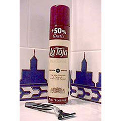 La Toja Super Creamy Shaving Foam - Sensitive