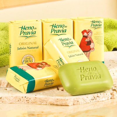 6 Bars of Heno de Pravia Soap