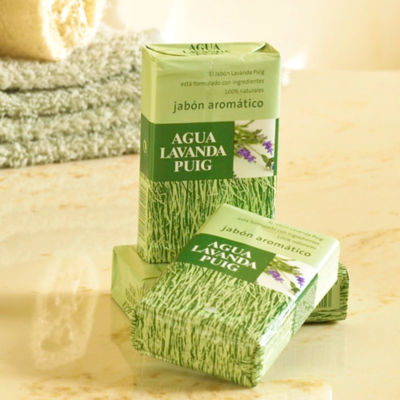 6 Bars of Lavanda Puig Soap