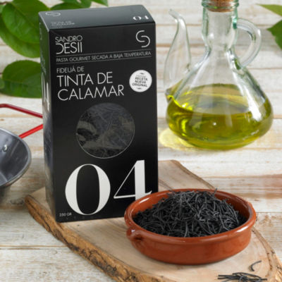 2 Packages of Fideuá de Tinta de Calamar - Black Fideo Pasta