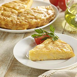 Two Premium Tortilla Española Potato Omelets