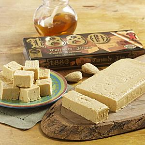 Creamy Almond & Honey Jijona Turron Candy by '1880'